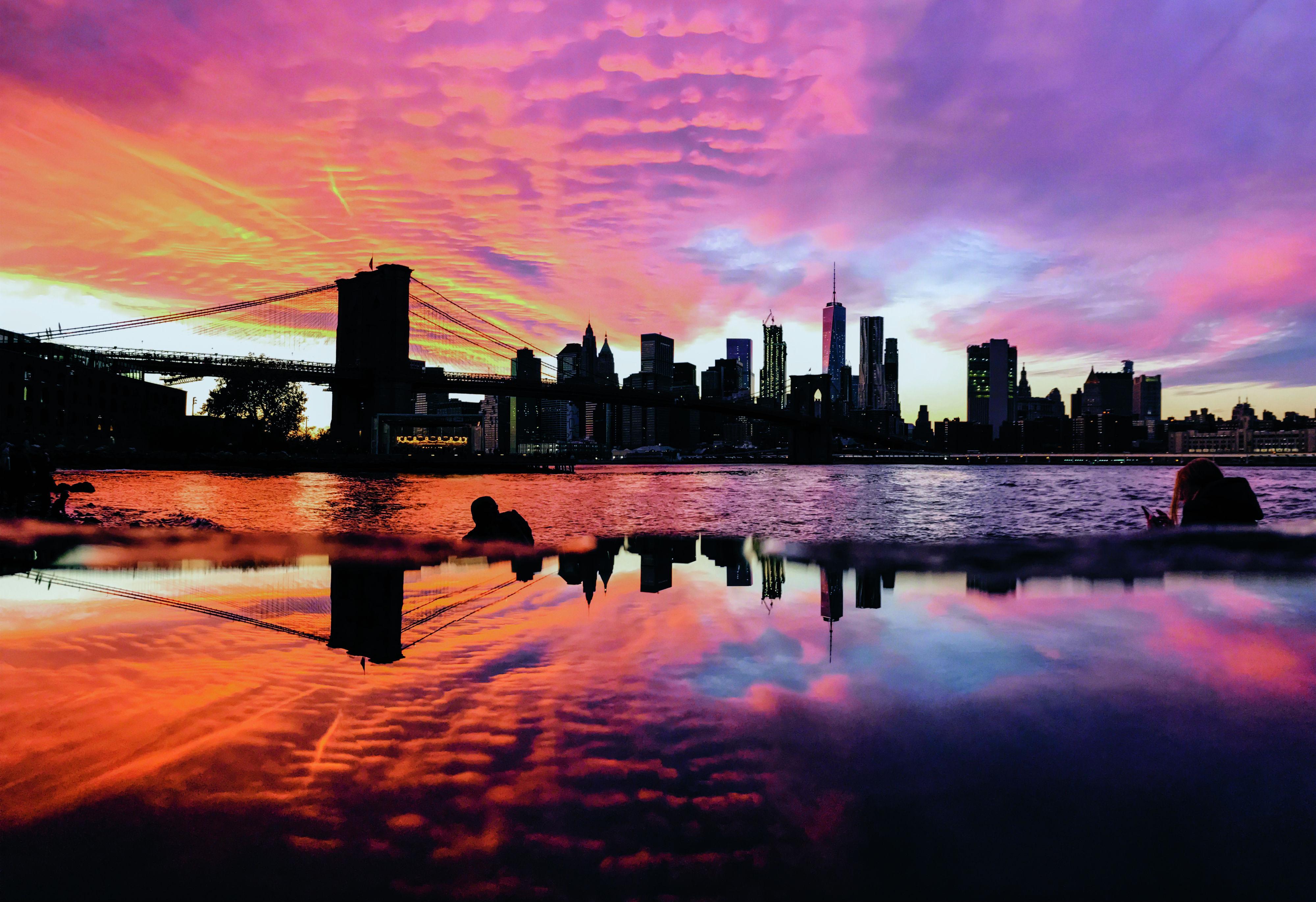 Vista de Nova Iorque (EUA)