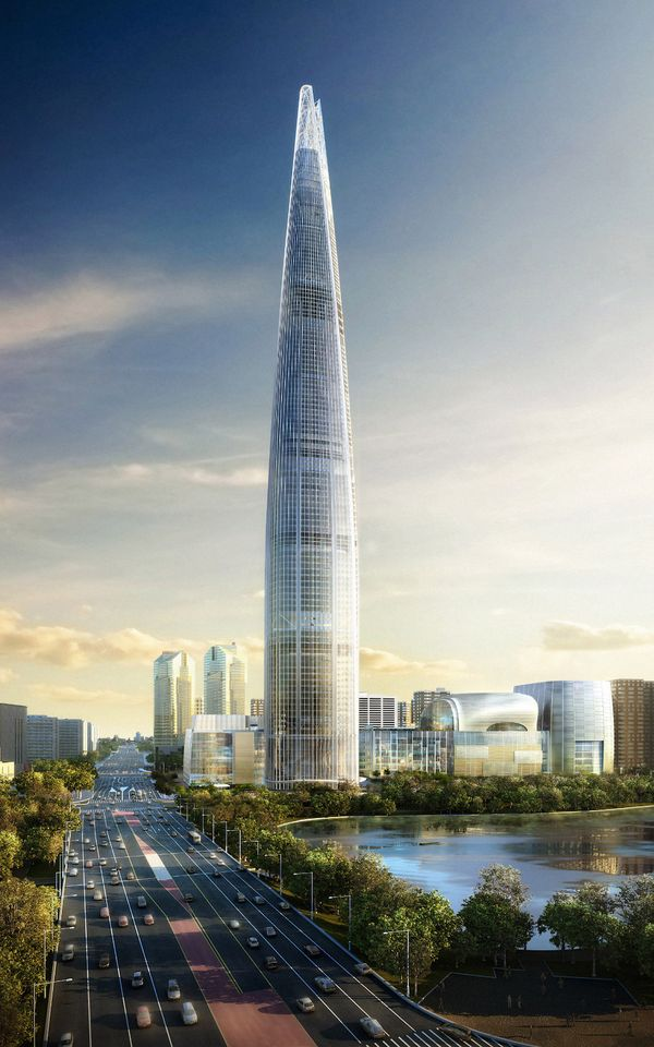 Lotte World Tower, Coreia do Sul