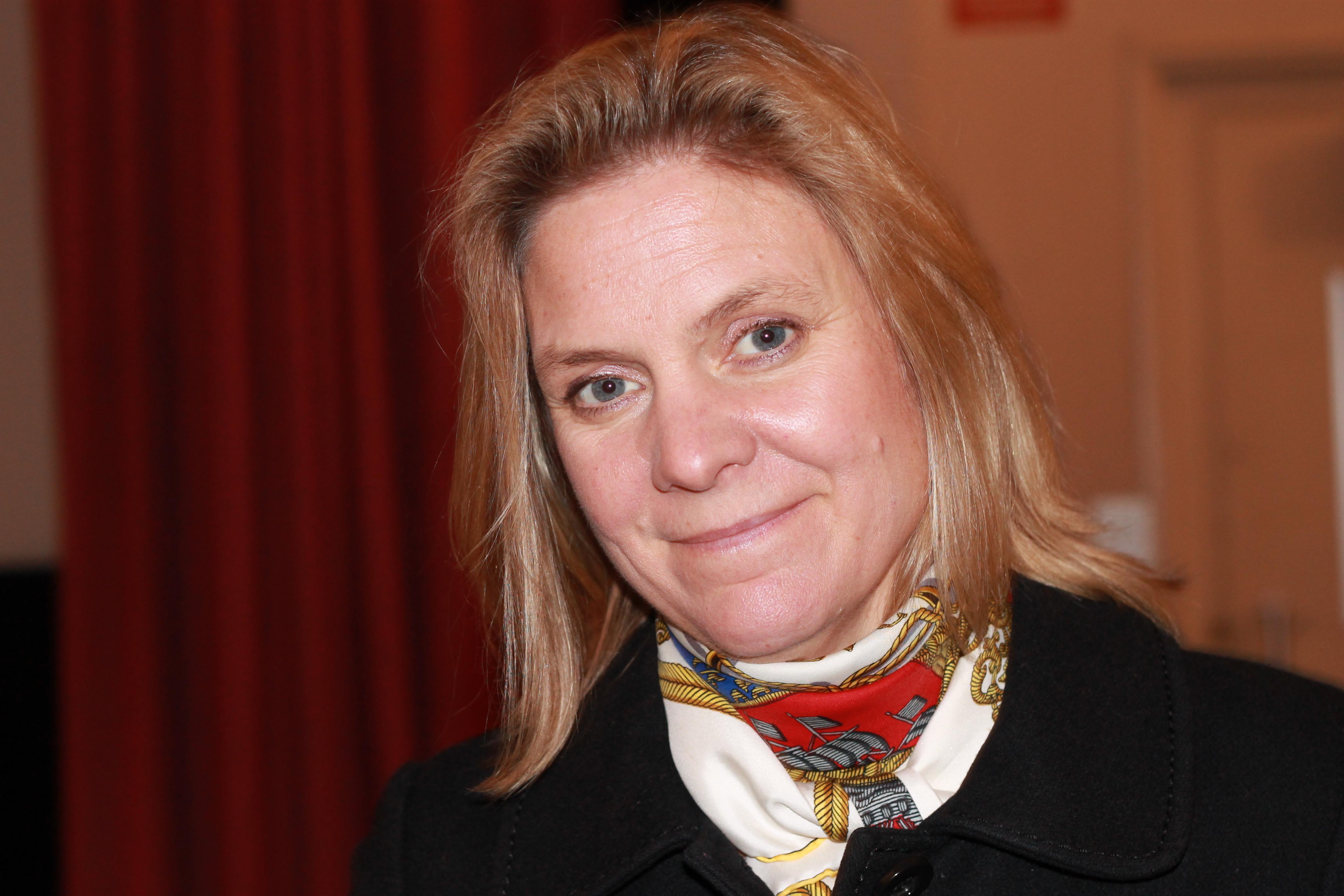 Magdalena Andersson, ministra sueca das Finanças / Wikimedia Commons