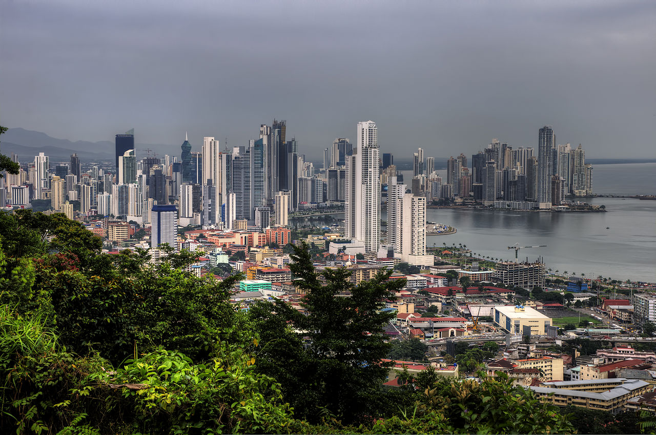 Vista panorâmica do Panamá. / Wikimedia commons