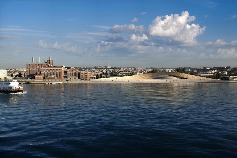 Museu de Arte, Arquitetura e Tecnologia (MAAT). Lisboa, Portugal. AL_A. @Francisco Nogueira