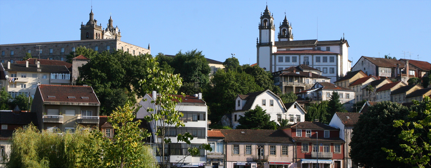 Vista panorâmica de Viseu. / Wikimedia commons