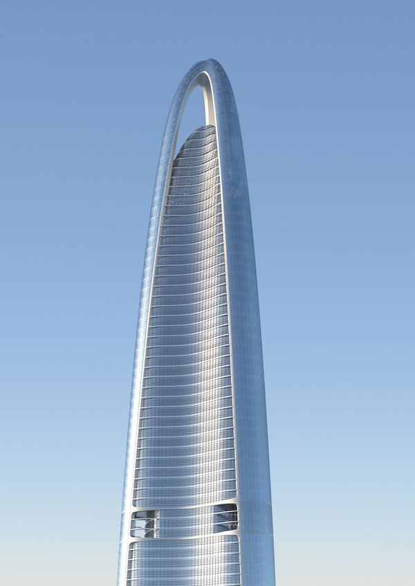 Wuhan Greenland Center, China