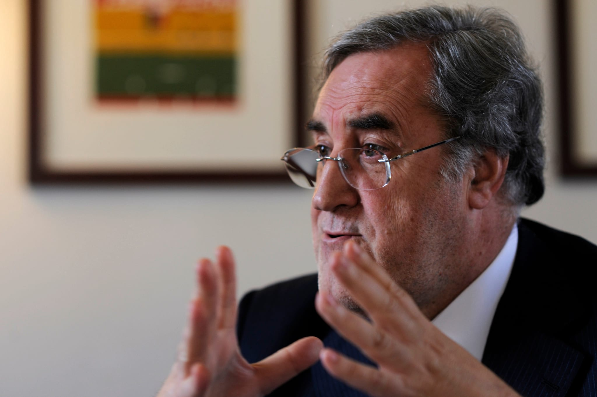 Manuel Reis Campos, presidente da CPCI. / Público