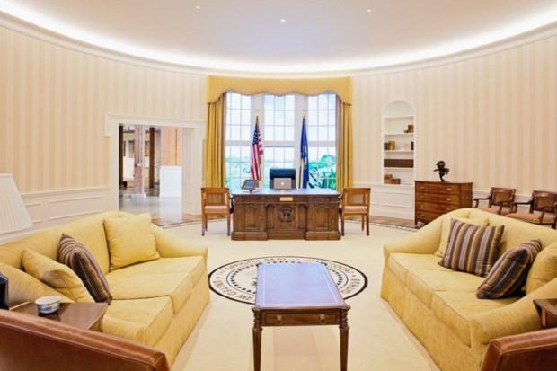 1 – Receção do GitHub (São Francisco/EUA), que é uma réplica da Sala Oval da Casa Branca