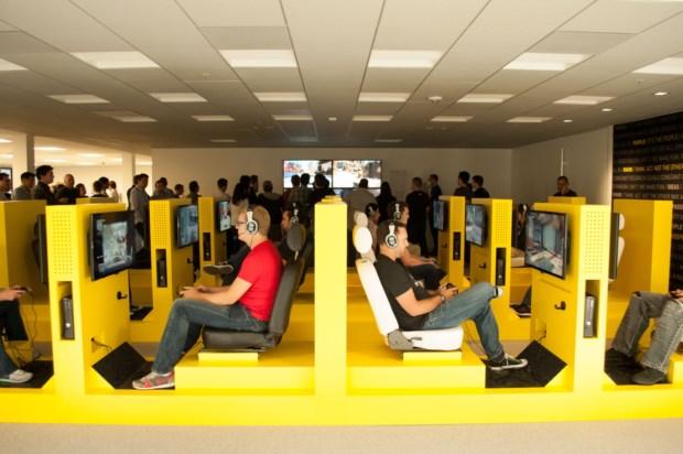 2 – Sala de videojogos da Activision Blizzard, em Santa Mónica, Califórnia (EUA)