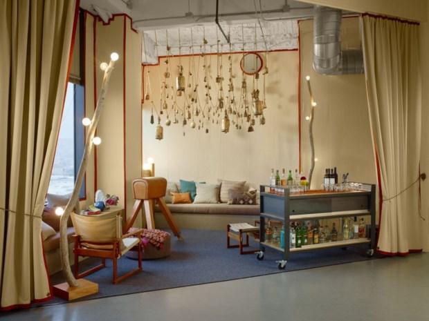 5 – No escritório da Asana (São Francisco/EUA) tudo pode ser movido...