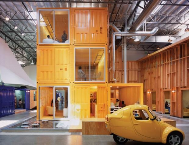 6 – Escritórios da Pallotta Teamworks (Califórnia/EUA) foram construídos a partir de contentores