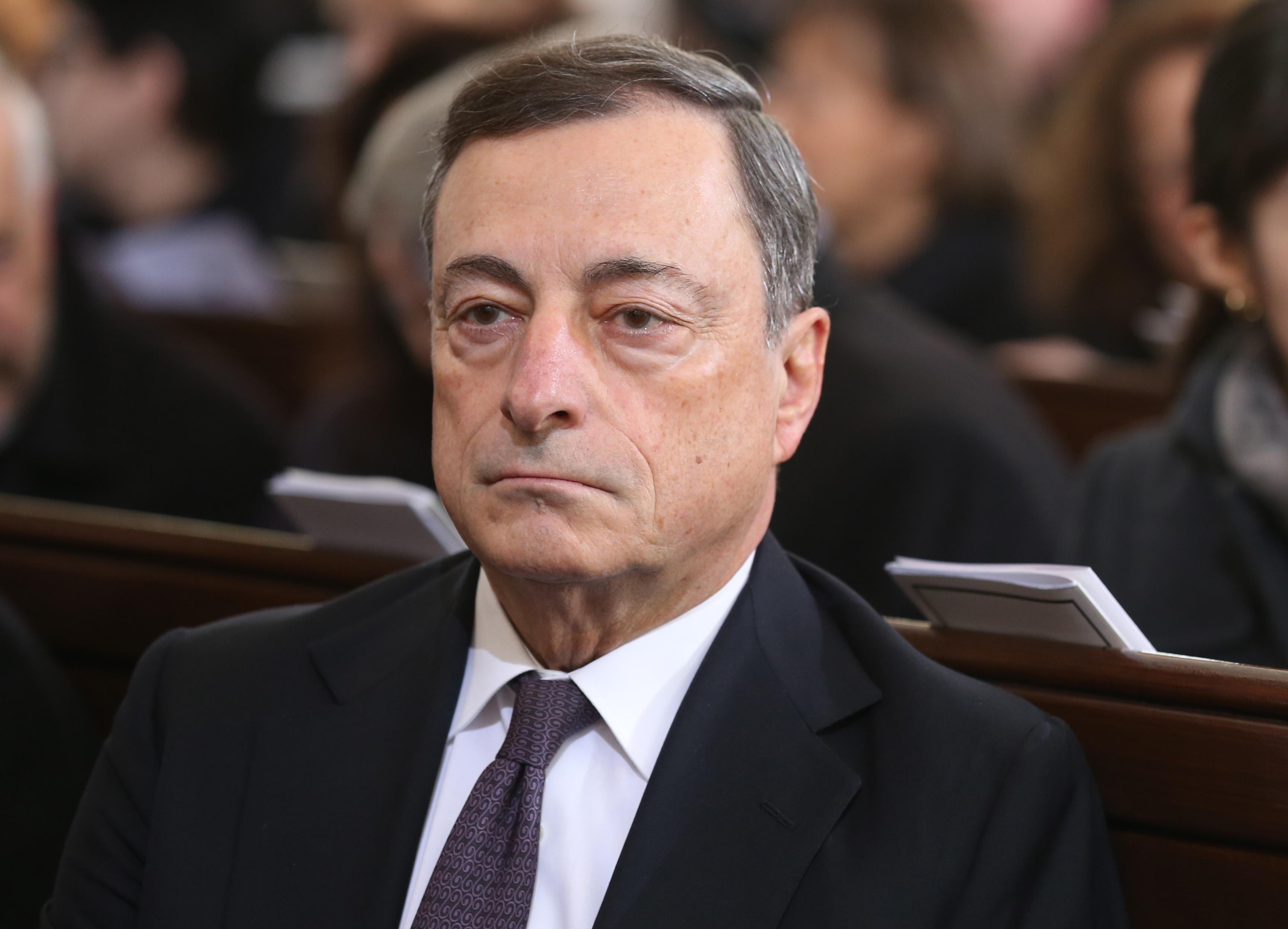 Mario Draghi, presidente do BCE, dá puxão de orelhas às autoridades portuguesas  / Gtres