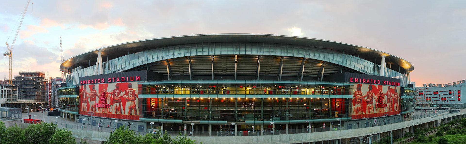 Emirates Stadium, estádio do Arsenal