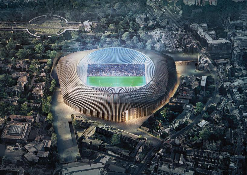 Assim será o futuro estádio do Chelsea. / O Jogo