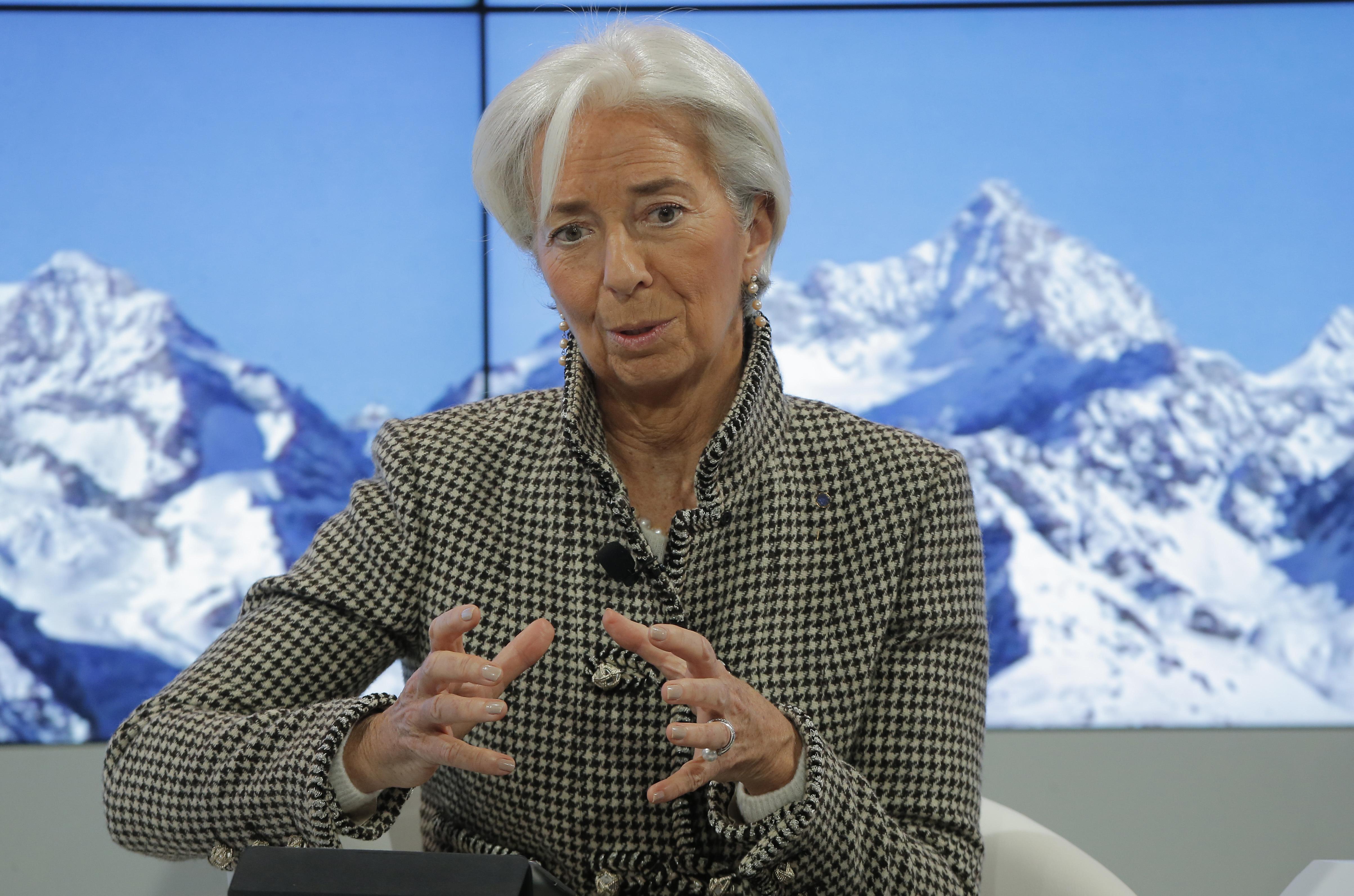 Christine Lagarde, diretora-geral do FMI / Gtres