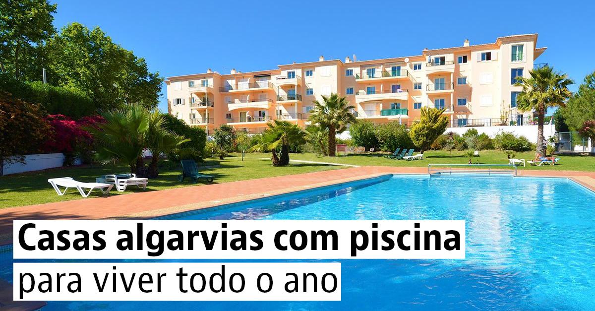 Casas algarvias com piscina