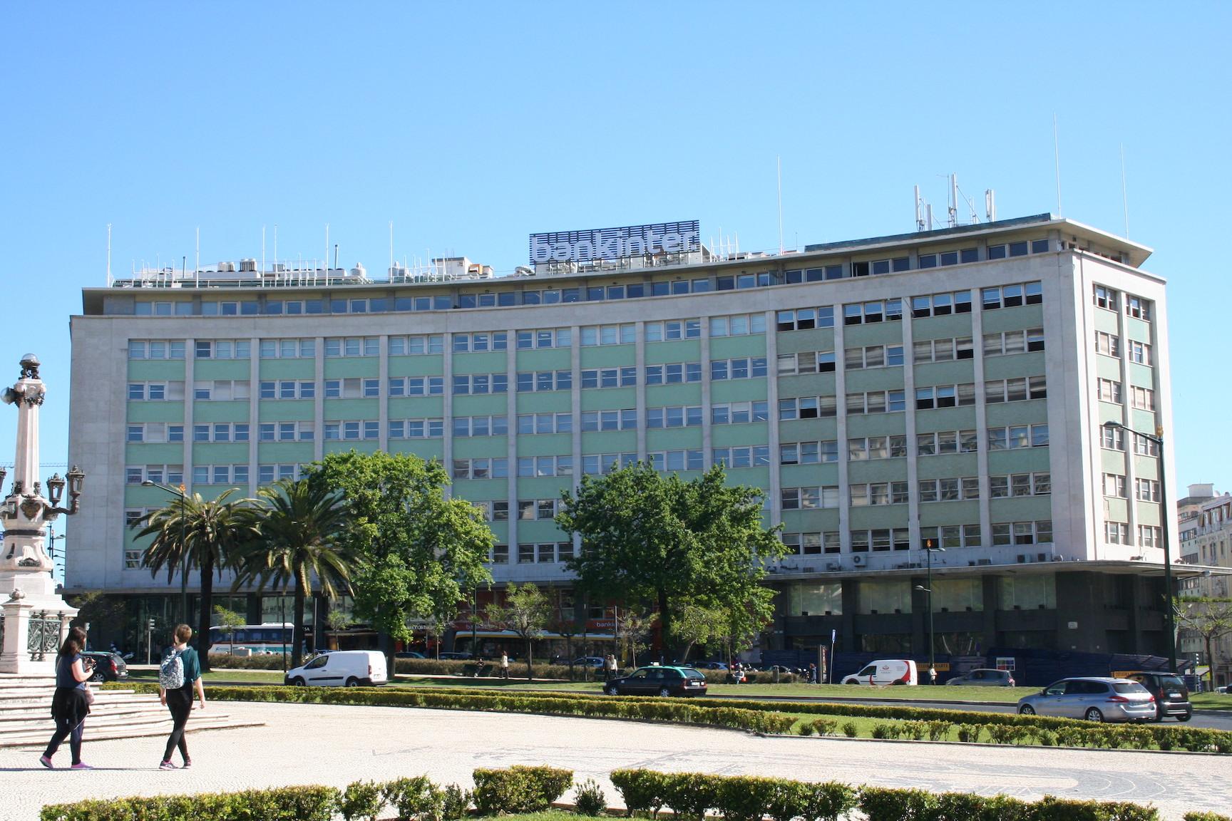 Nova sede do Bankinter em Portugal encontra-se no edifício Marquês de Pombal 13. / JLL