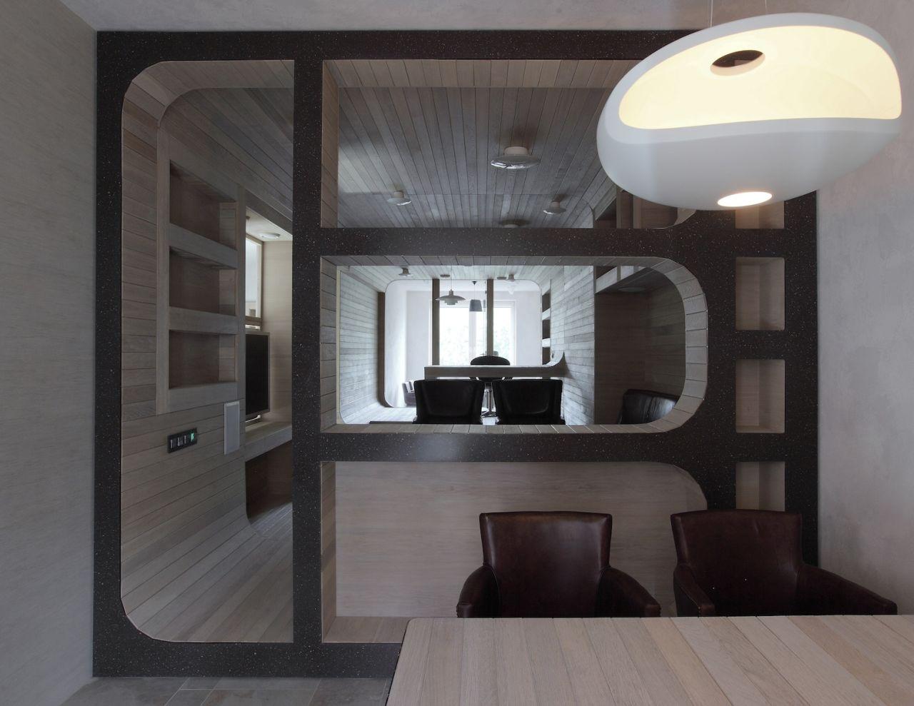 12 – Oak Tube Apartment, Moscovo, Rússia