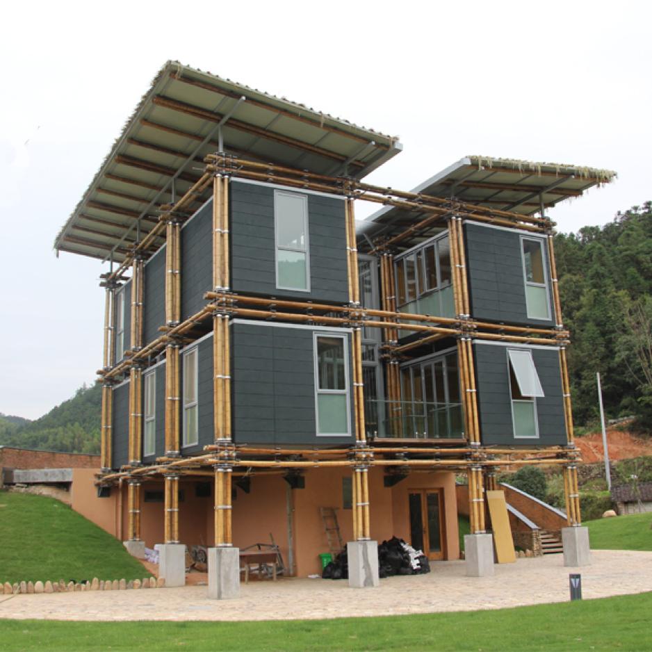 Casas e outras maravilhas feitas de bambu que te levar o at ao long nquo oriente idealista news - Casa de bambu madrid ...
