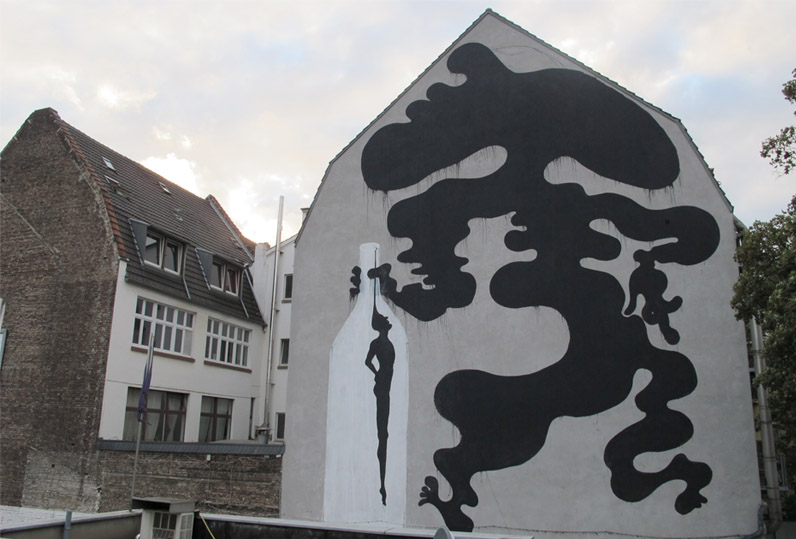 O génio do bêbedo (Colónia, Alemanha)