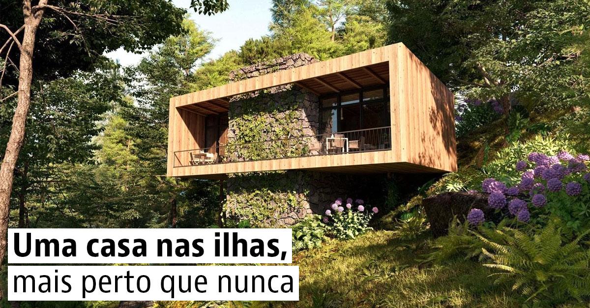 Casas à venda nas ilhas portuguesas