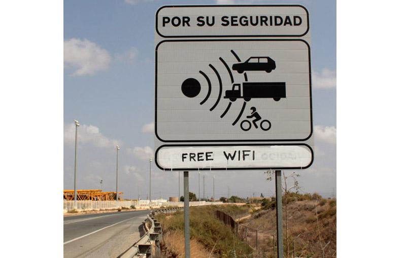 Free wifi, La Aljorra (Múrcia)