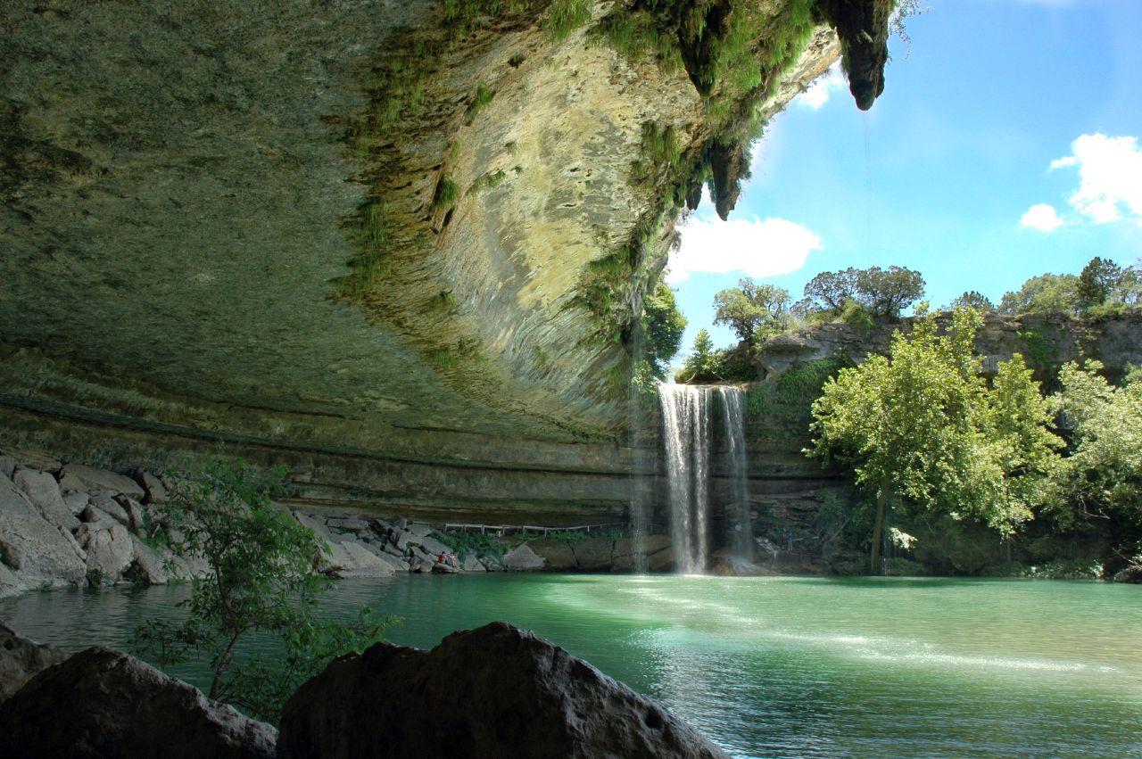 Hamilton Pool Preserve (Texas, EUA)