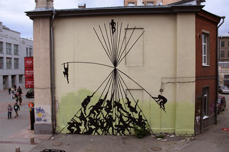 Jogo de poder, Ekaterimburgo (Rússia)