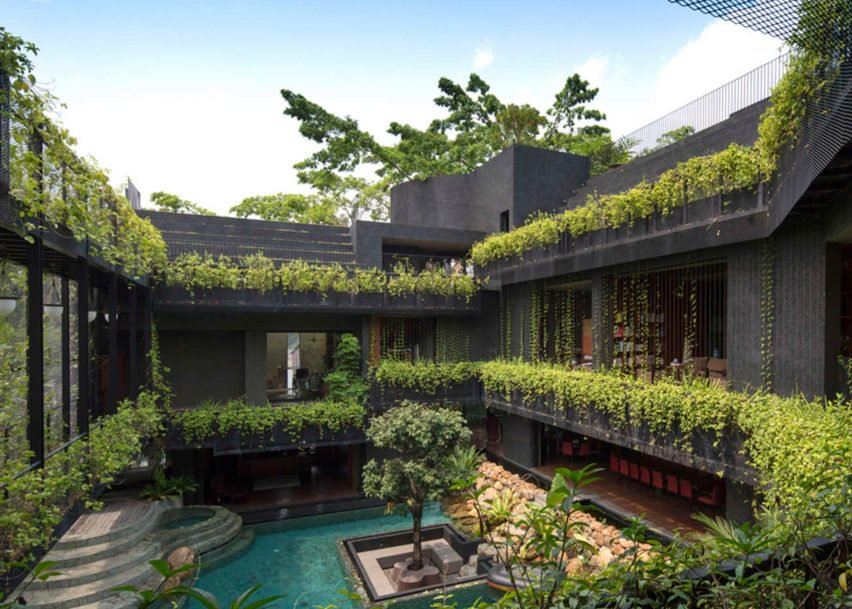 Cornwall Gardens, Singapura, por Chang Architects