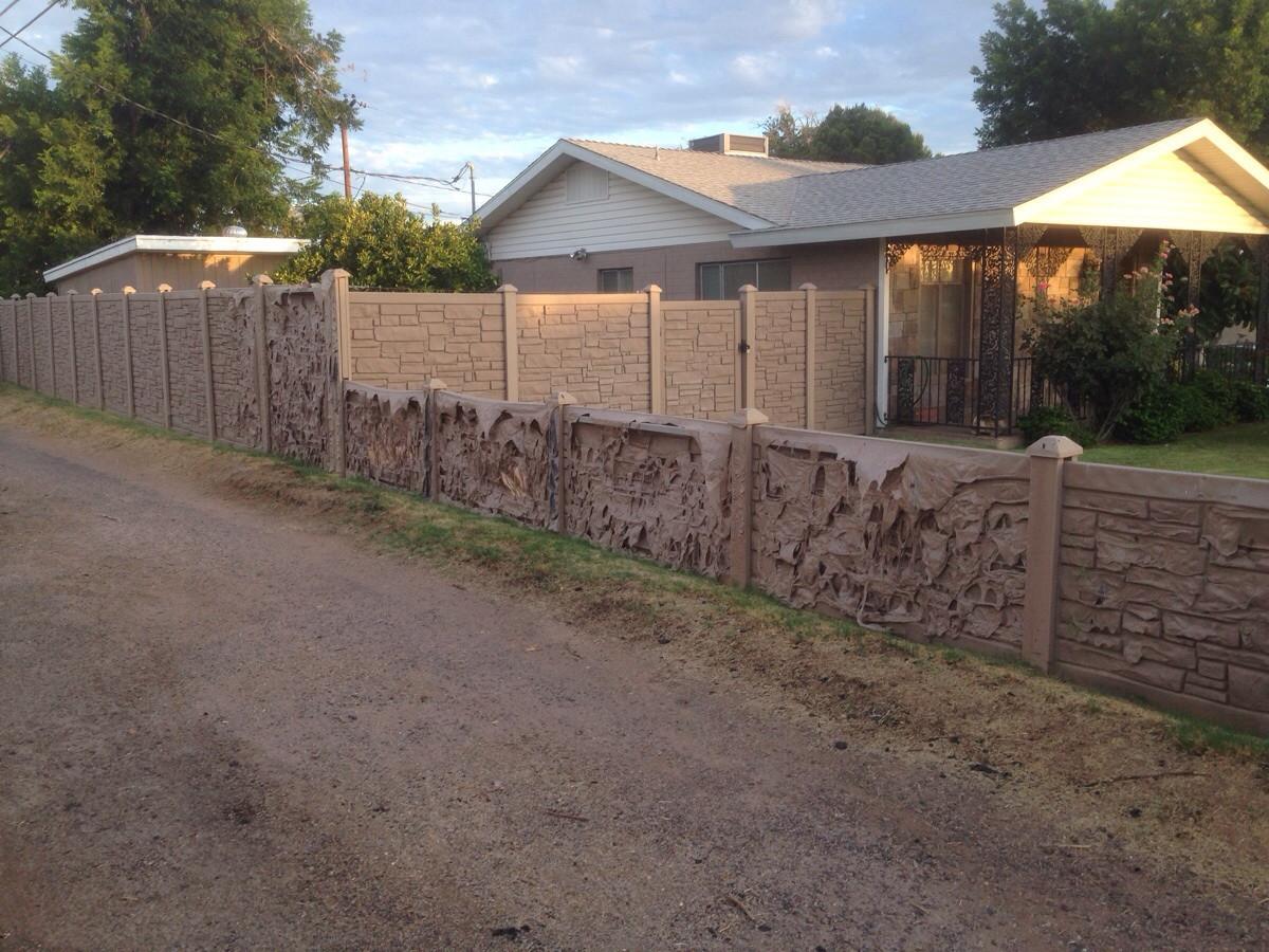 Muros de casas...