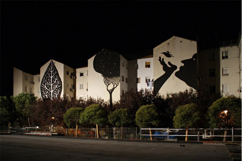 Tríptico de noite, Madrid