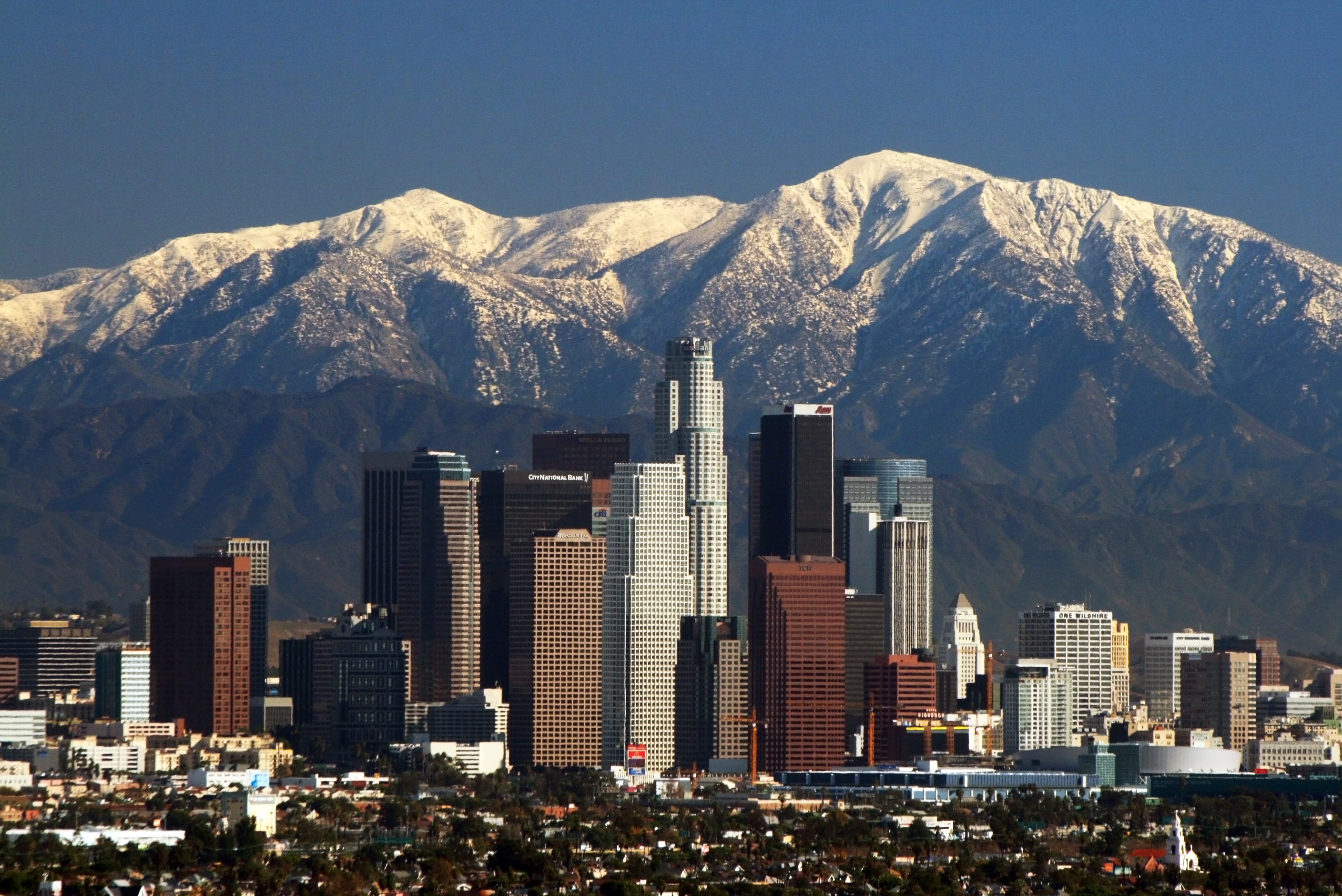 Los Angeles (EUA) lidera o ranking. / Wikimedia commons