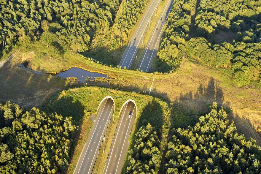 2 – Passagem natural na Bélgica