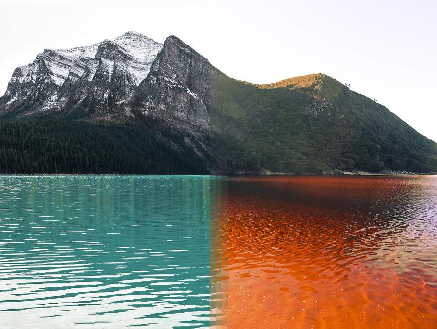 3 – Banff National Park no Canada Vs Tsitsikamma National Park na África do Sul