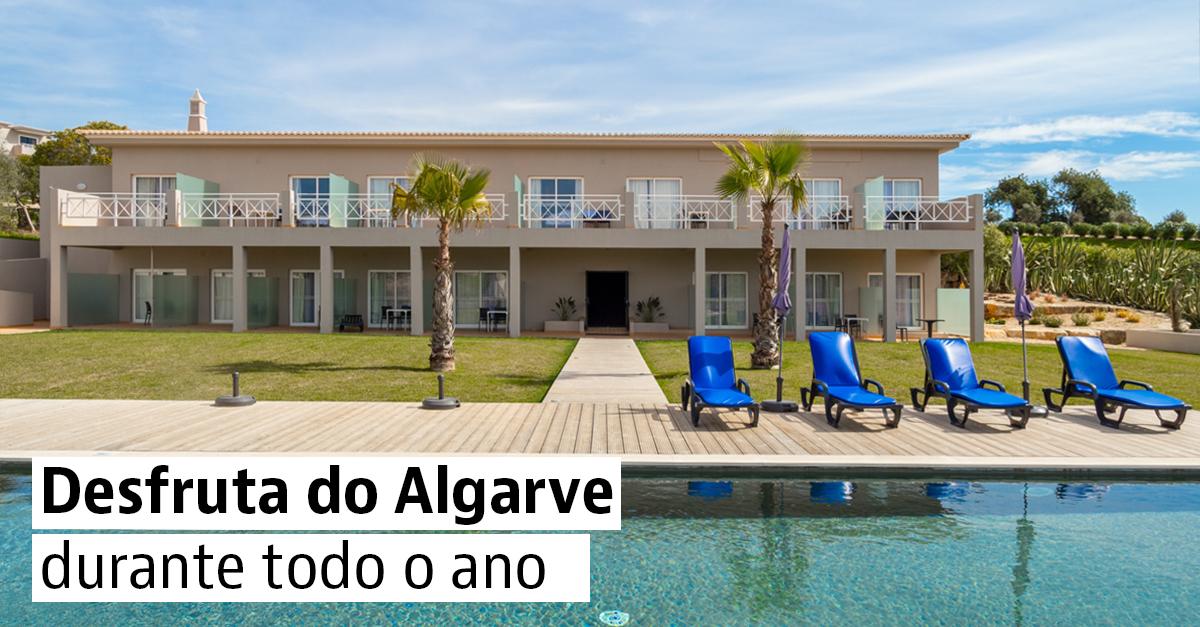 Casas de praia com piscina no Algarve