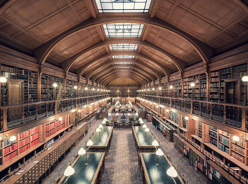 Biblioteca do Hotel de Ville de Paris, de 1890 / Thibaud Poirier