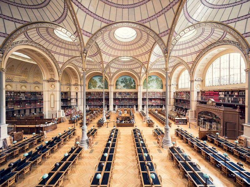 Biblioteca Nacional de França, de 1868 / Thibaud Poirier