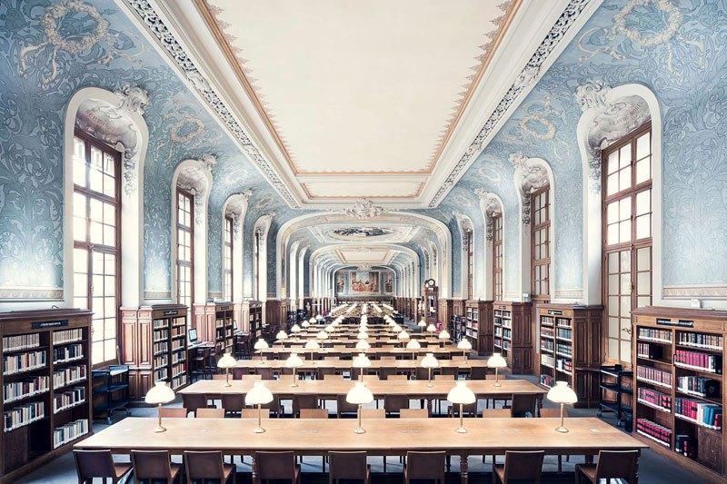 Biblioteca de la Sorbona de Paris, de 1897 / Thibaud Poirier