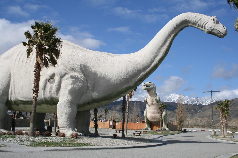 Cabazon Dinosaurs, Califórnia, EUA