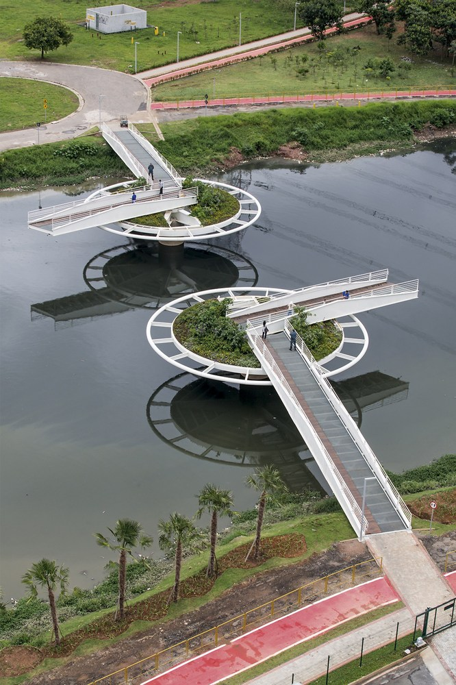 Ponte Friedich Bayer, em São Paulo (Brasil)