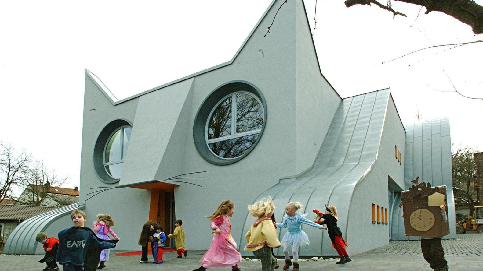 Kindergarten Wolfartsweier, Karlsruhe (Alemanha)