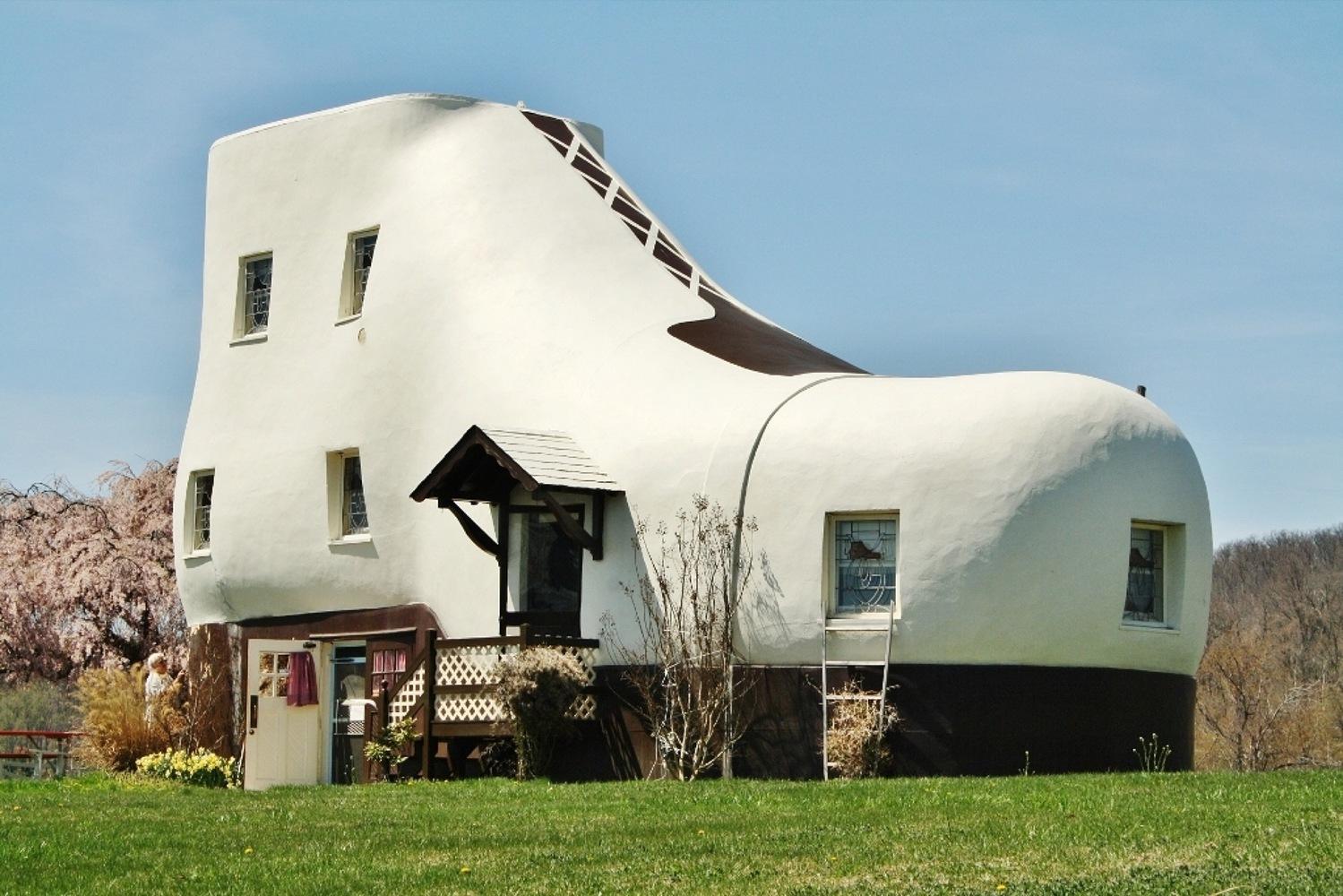 Haines Shoe House, Hallam, Pensilvânia (EUA)