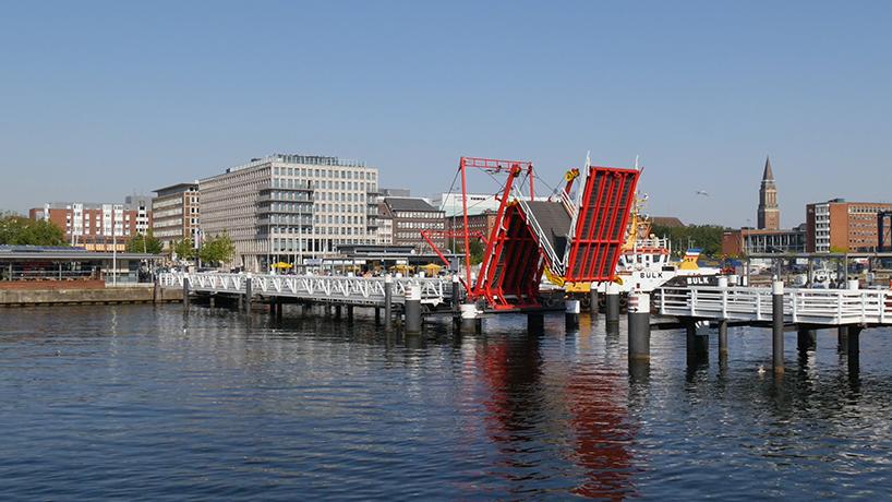 Hörn Bridge, em Kiel (Alemanha)