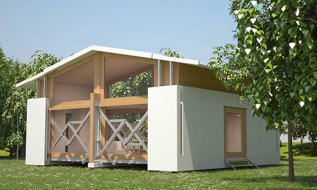 Uma casa port til com 64 m2 que demora dez minutos a ser - Casas americanas espana ...