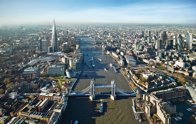 'El Clásico': A Ponte de Londres (Inglaterra)