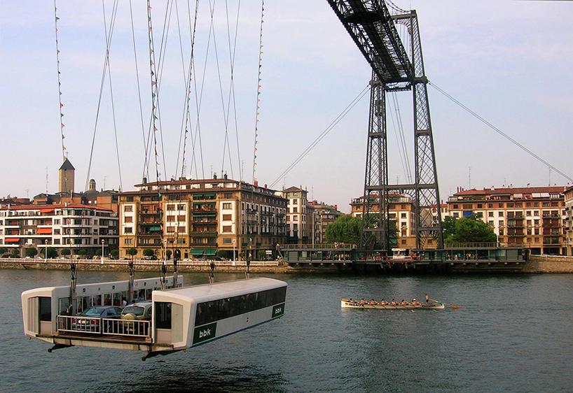A ponte de Vizcaya, de Alberto Palacio. Getxo/Portugalete (Espanha)