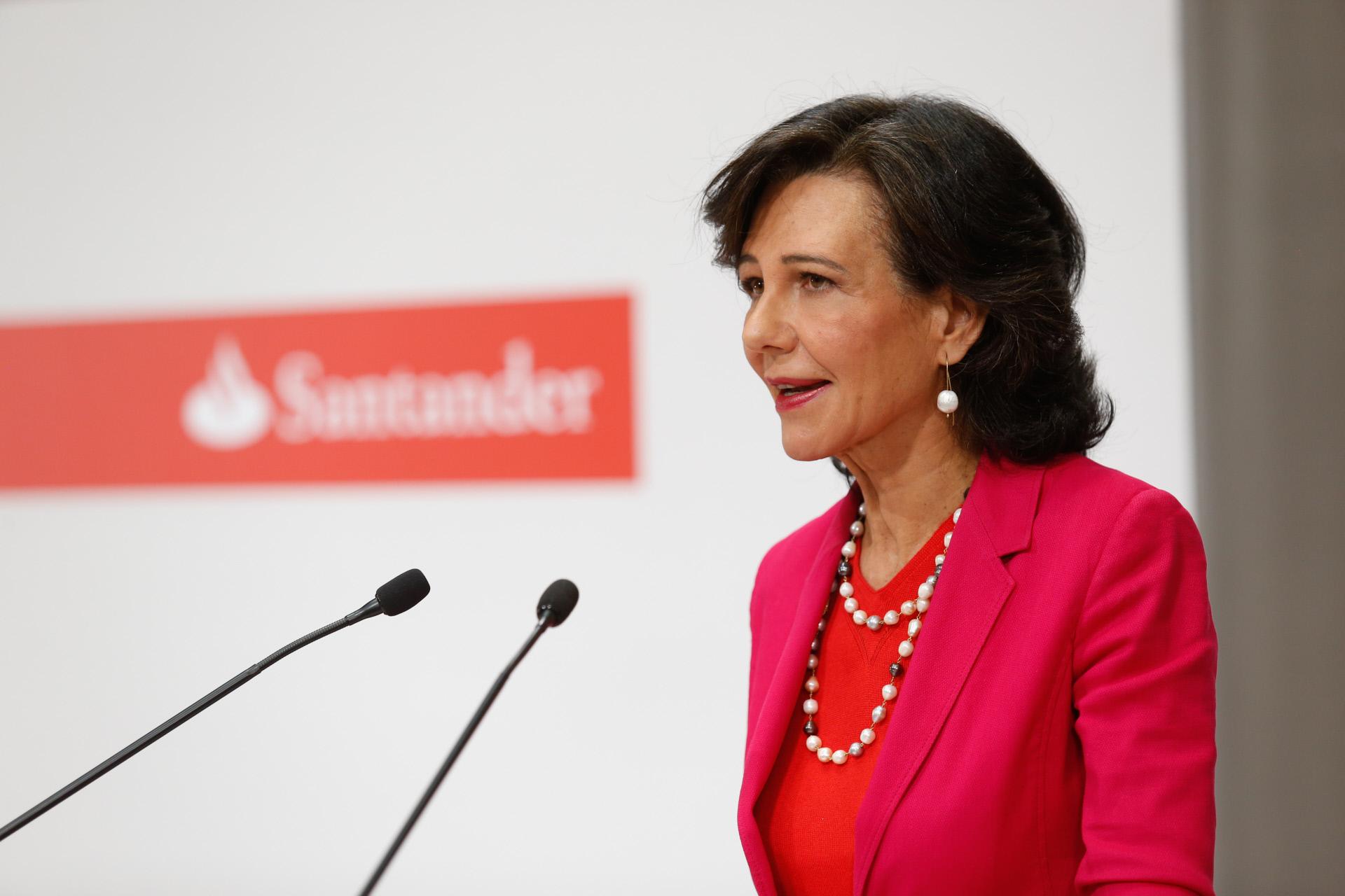 Banco liderado por Ana Botín quer reduzir exposição ao imobiliário