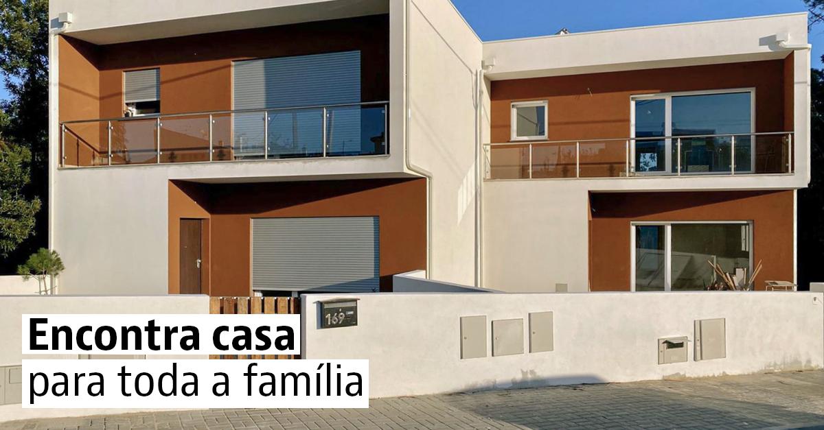 Moradias geminadas à venda em Portugal
