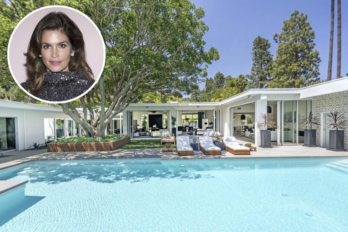 Cindy crawford compra uma nova casinha em beverly hills for Fotos casas famosos