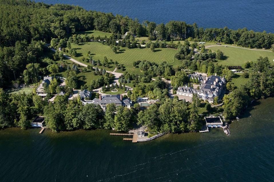 Alton, New Hampshire. 19,8 milhões de dólares (16,6 milhões de euros). Área: 5.852 m2