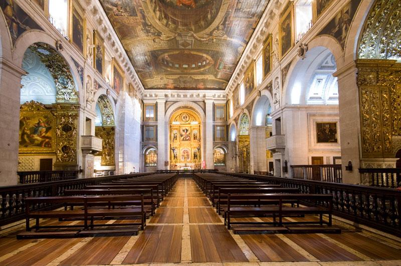 Igreja de São Roque foi um dos espaços mais visitados no último fim de semana / CML