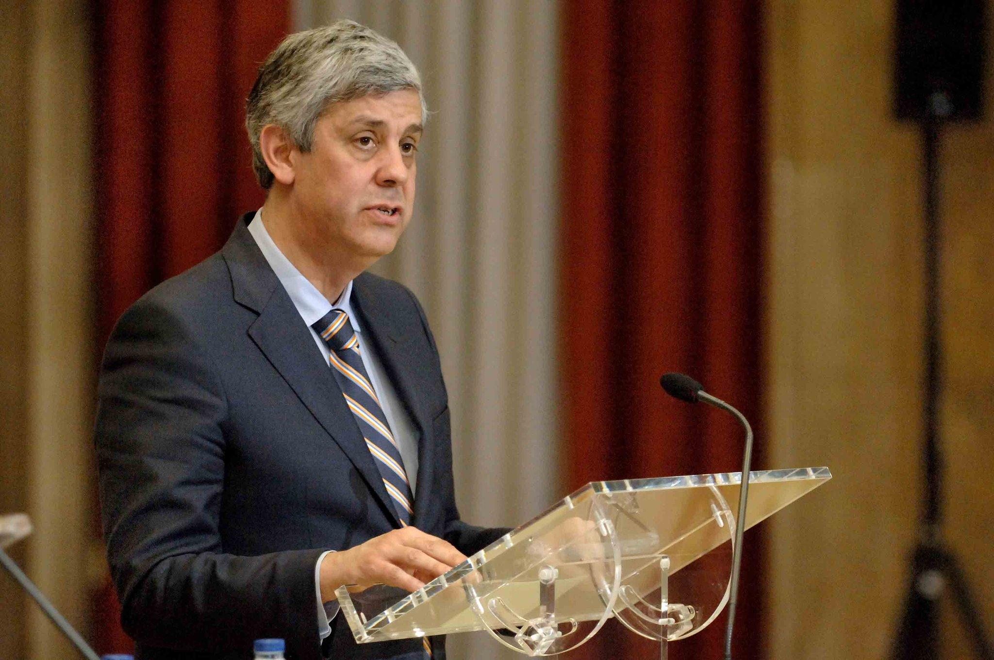 Mário Centeno, ministro das Finanças. / Twitter@pt_financas