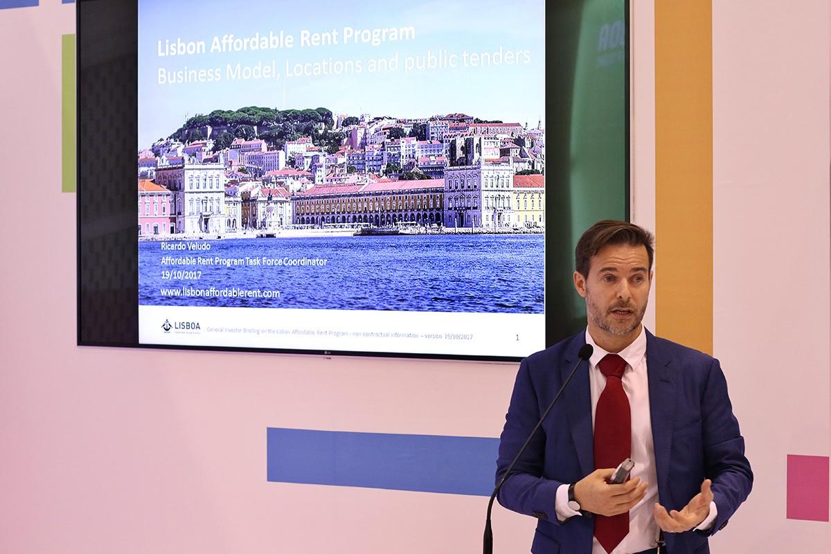 O coordenador do Programa Renda Acessível, Ricardo Veludo